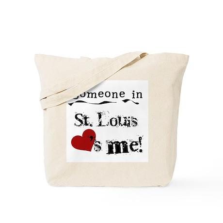 St. Louis Loves Me Tote Bag