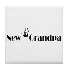 New Grandpa Tile Coaster
