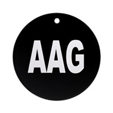 AAG Ornament (Round)
