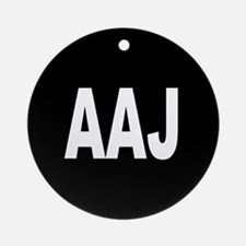 AAJ Ornament (Round)
