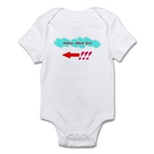 She Did It_Lt Infant Bodysuit
