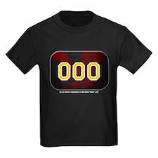 Victor Zero Kids Black T-Shirt