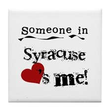 Syracuse Loves Me Tile Coaster