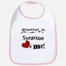 Syracuse Loves Me Bib