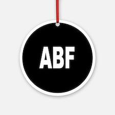 ABF Ornament (Round)