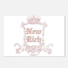 Juicy New Rich Postcards (Package of 8)