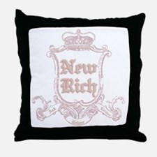 Juicy New Rich Throw Pillow