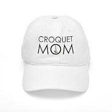 Croquet Mom Baseball Cap