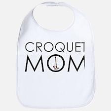 Croquet Mom Bib