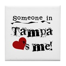 Tampa Loves Me Tile Coaster