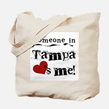 Tampa Loves Me Tote Bag