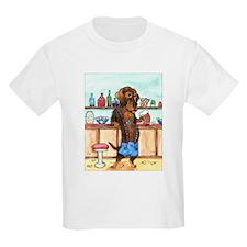 Wirehair Weiner Lederhosen T-Shirt