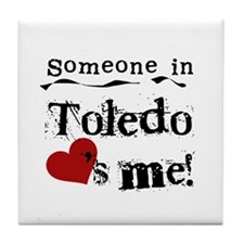 Toledo Loves Me Tile Coaster