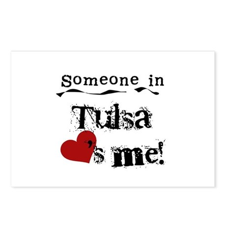 Tulsa Loves Me Postcards (Package of 8)