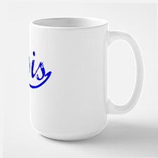 Vintage Genesis (Blue) Large Mug