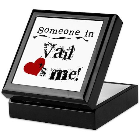 Vail Loves Me Keepsake Box