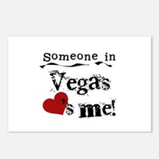 Vegas Loves Me Postcards (Package of 8)