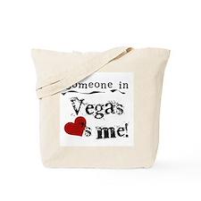 Vegas Loves Me Tote Bag