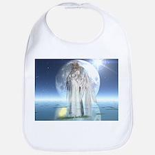 Moon Angel Bib