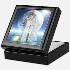 Moon Angel Keepsake Box