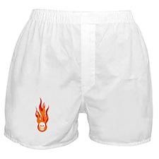 Blazing Skull Boxer Shorts