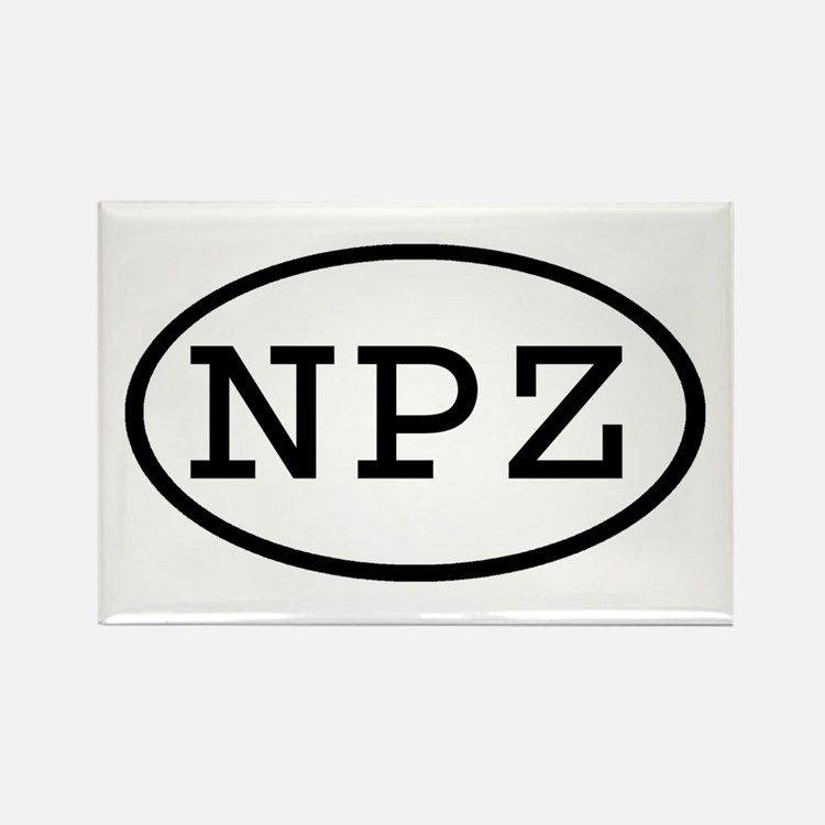 NPZ Oval Rectangle Magnet