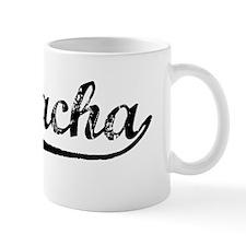 Vintage Si Racha (Black) Mug