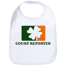Irish COURT REPORTER Bib