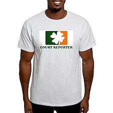 Irish COURT REPORTER T-Shirt