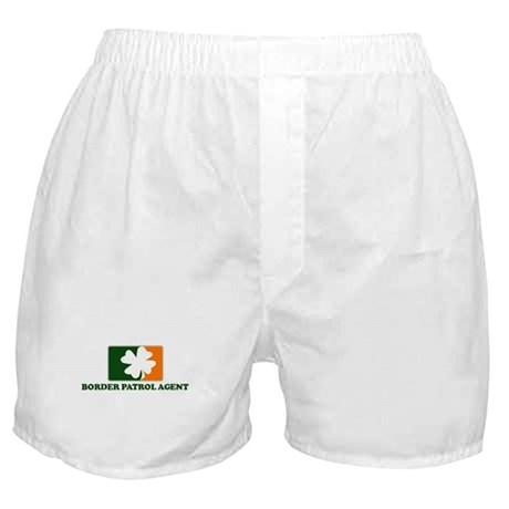Irish BORDER PATROL AGENT Boxer Shorts