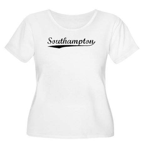 Vintage Southampton (Black) Women's Plus Size Scoo