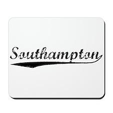 Vintage Southampton (Black) Mousepad