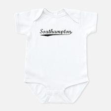 Vintage Southampton (Black) Infant Bodysuit