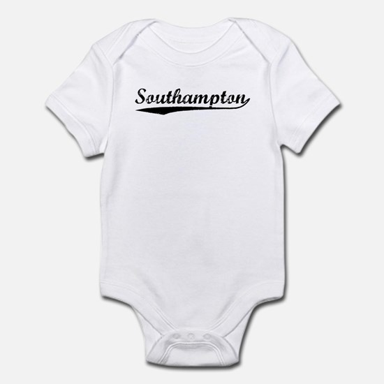 Vintage Southampton (Black) Infant Bodysuit