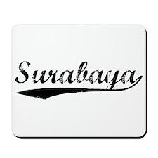 Vintage Surabaya (Black) Mousepad