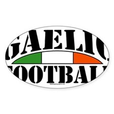 Gaelic Football Oval Decal