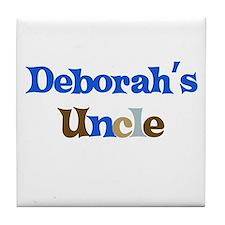 Deborah's Uncle Tile Coaster