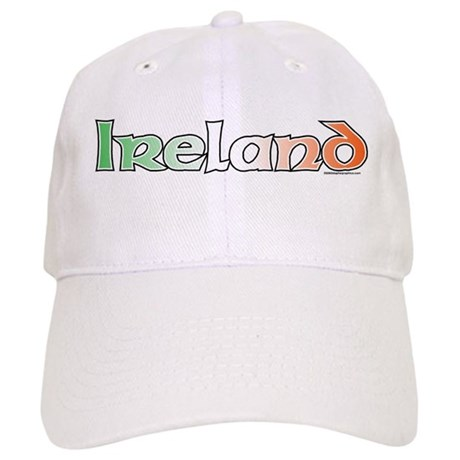 Ireland with Flag Cap