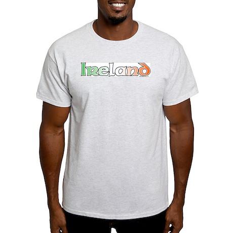 Ireland with Flag Light T-Shirt