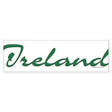 Ireland Script Bumper Bumper Sticker
