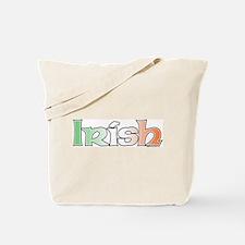 Irish with Flag Tote Bag