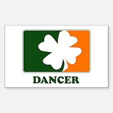 Irish DANCER Rectangle Decal