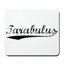 Vintage Tarabulus (Black) Mousepad