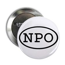 "NPO Oval 2.25"" Button"