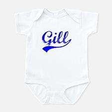 Vintage Gill (Blue) Infant Bodysuit