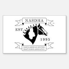 NASDHA Logo Rectangle Decal