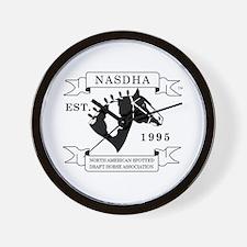 NASDHA Logo Wall Clock