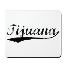 Vintage Tijuana (Black) Mousepad