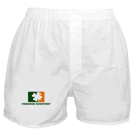 Irish FORENSIC SCIENTIST Boxer Shorts