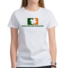 Irish FOOD SERVICE MANAGER Tee